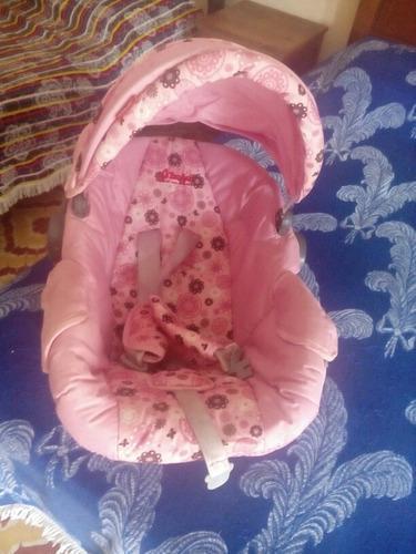 Carriola y portabebe rosa d'bebé