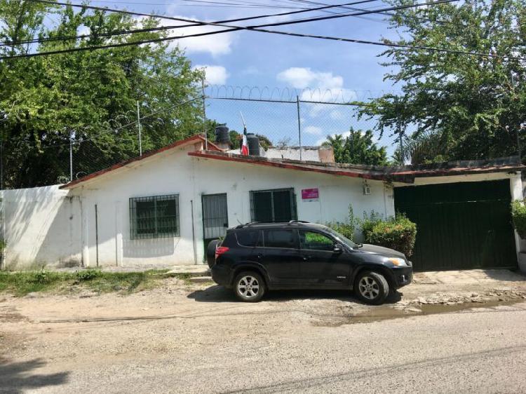 Casa en venta de 1 nivel con bungalow en jiutepec (directo y