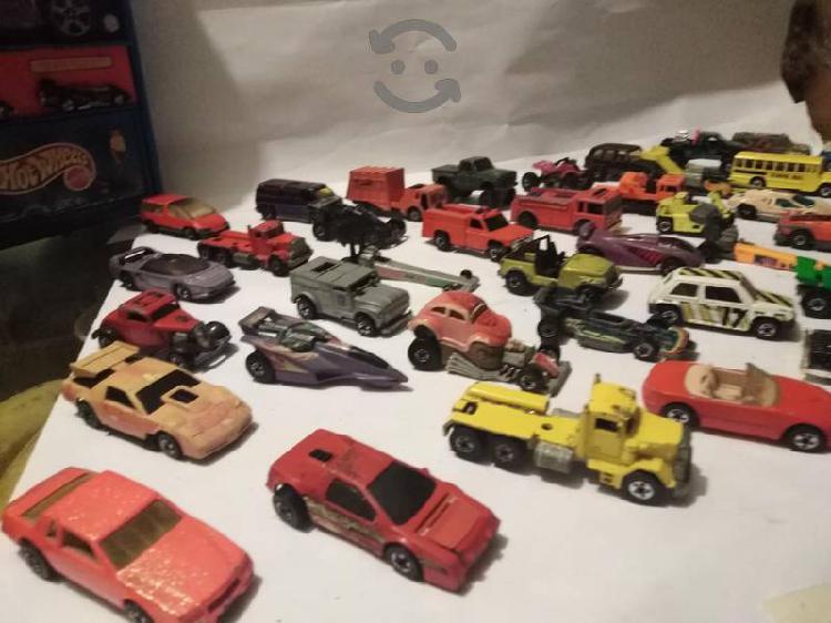 Hot wheels de los 70,y de los 80,s