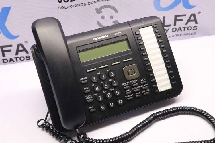 Kx-dt543 teléfono panasonic