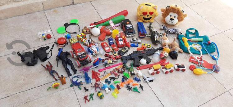 Lote juguetes sencillos