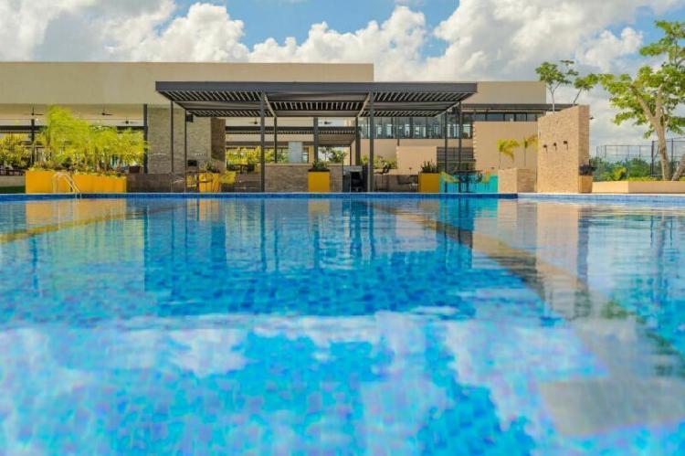 Lote de 433 m2 en privada norte merida cerca del yucatan