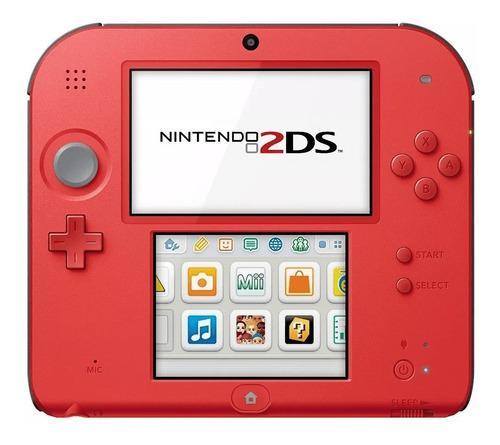 Nintendo 2ds + 600 juegos + ds + 64gb