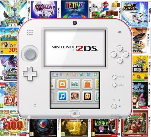Nintendo 2ds 64gb llena de juegos nuevo envio gratis