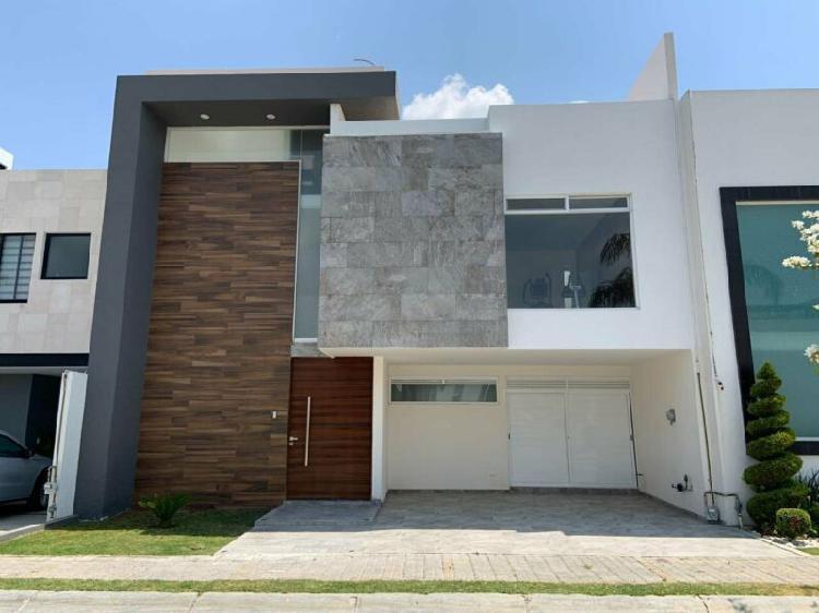 Oportunidad de casa nueva frente area verde en lomas de