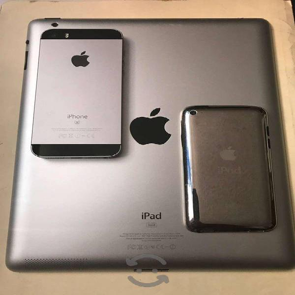 Paquete iphone + ipad + ipod