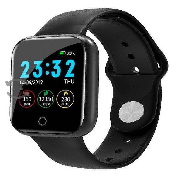 Pulsera reloj inteligente apps notificaciones