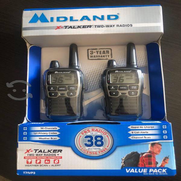 Radios 2 vías midland t71vp3