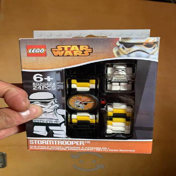 Reloj lego stormtrooper nuevo