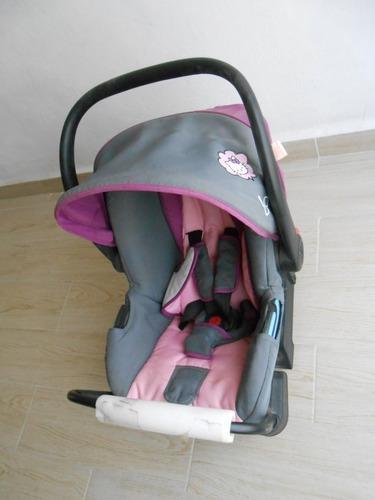 Silla para auto para bebe baby hello kitty dolly rosa e4
