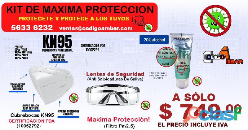 Kit de máxima protección