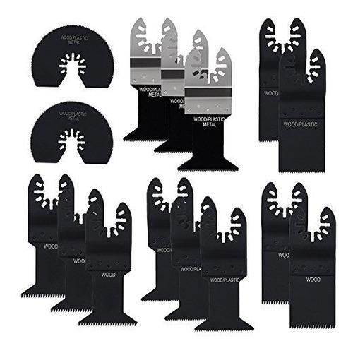 15 piezas multitool blades lichamp precisión mixta de