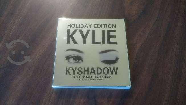5 paletas de sombras holiday kylie con envíogratis