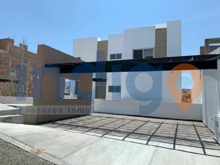 Casa nueva en venta en hacienda real tejeda en corregidora