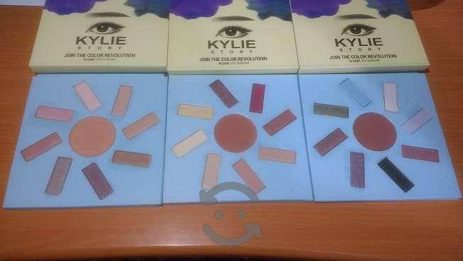 Conjunto de 5 sombras kylie story con envío gratis