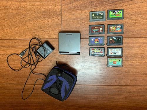 Gameboy advance sp accesorios y juegos