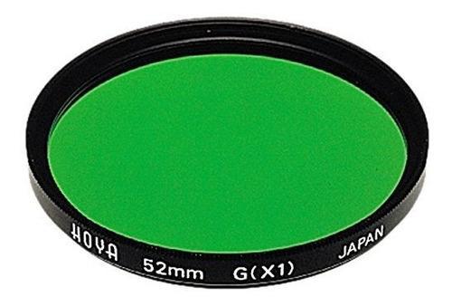 Hoya 52 mm x1 multicapa filtro de vidrio, color verde