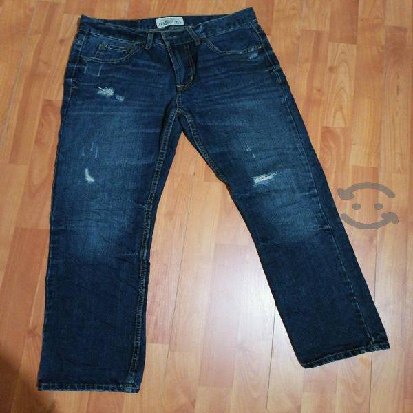 Jeans Aeropostale Original 29x30 Slim Straight En Bustamante Nuevo Leon Clasf Moda Y Accesorios