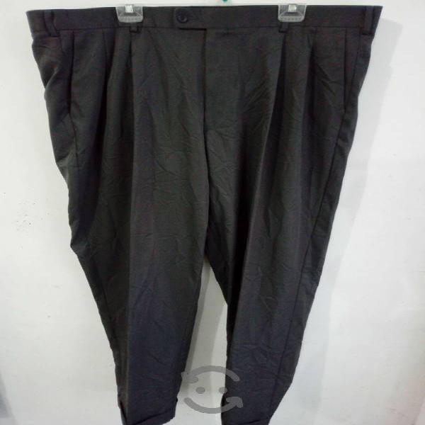 Pantalon vestible gris hombre america perry ellis