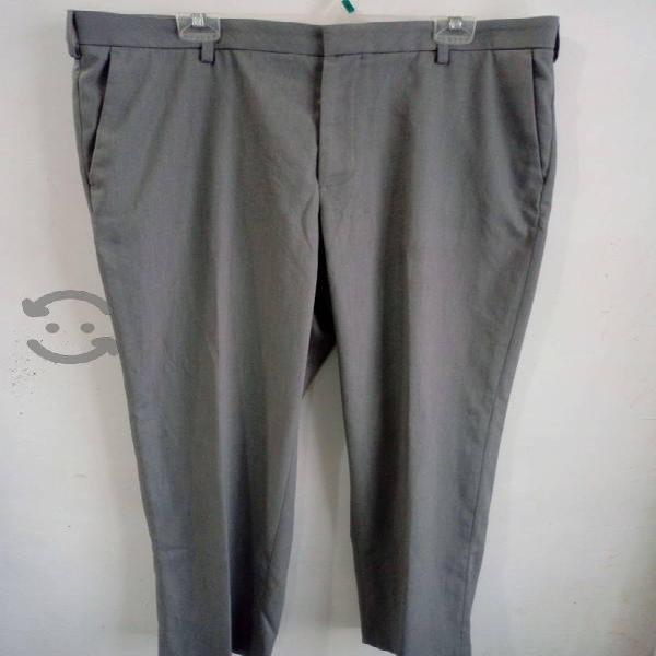 Pantalon vestible gris hombre - van heusen