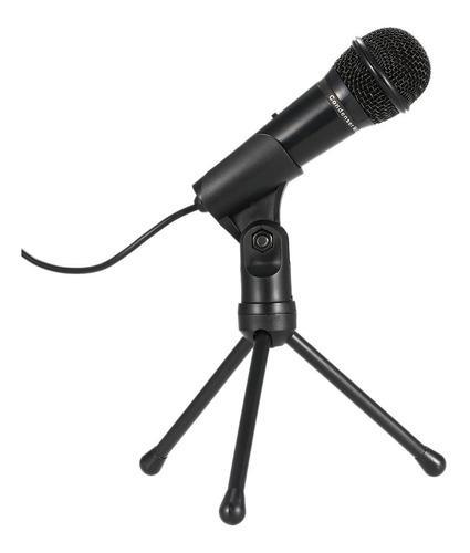 Profesional 3.5 mm condensador mic sonar studio podcast