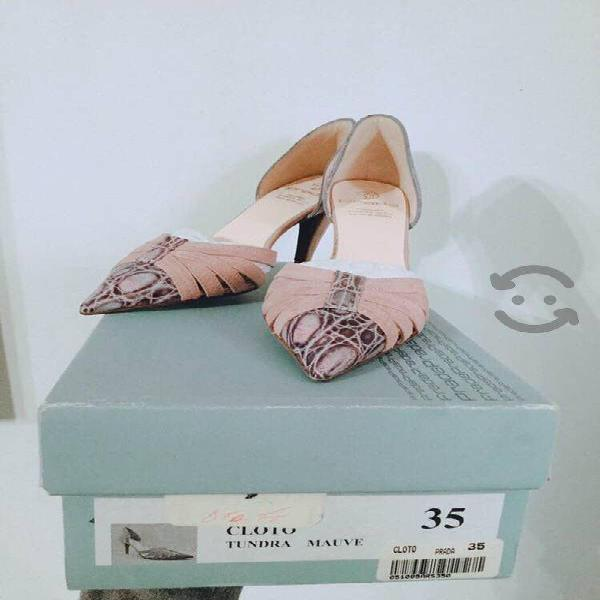 Regalo zapatos prada originales 3 y medio
