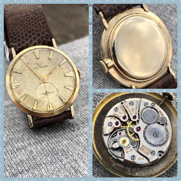 Reloj wittnauer by longines swss oro ultra plano