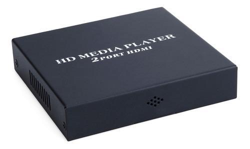 Reproductor multimedia portátil hd 1080p con salidas hdmi /