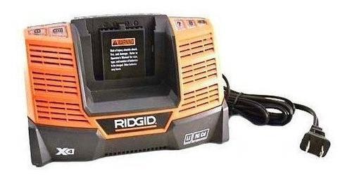 Ridgid r840093 9.6v - cargador multi-químico de 18v
