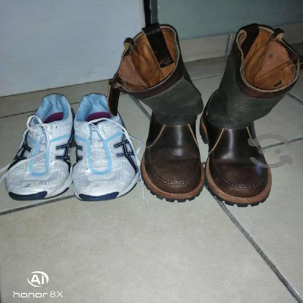 Salen botas de.caseria