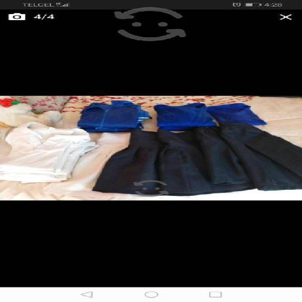 Pantalones y uniformes talla 8