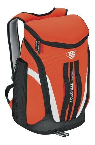 Back pack para bats louisville select stick pack naranja