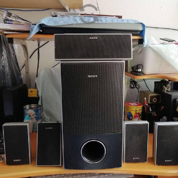 Bocinas sony home theater