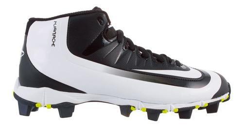 Cleats para beisbol nike huarache 21 cm=2y us negro c blanco