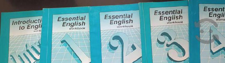 Cuadernillos y audios de ingles