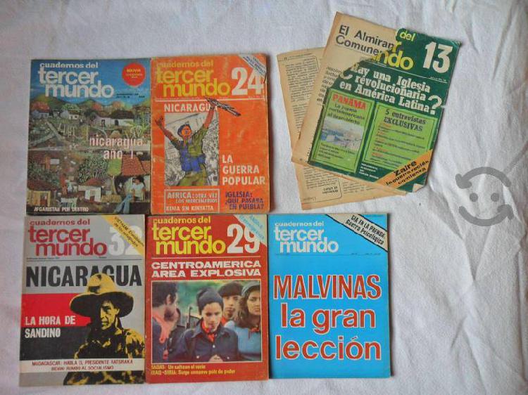 Cuadernos del tercer mundo