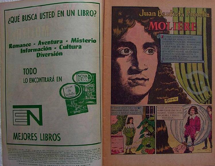 Editorial novaro 1971 moliere genio del teatro