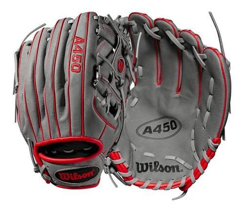 Guante de softbol beisbol wilson juvenil a450 11.5 pulgadas