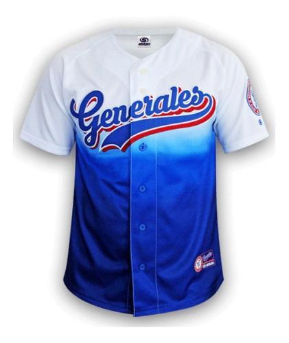 Jersey beisbol generales durango camisola local lmb hombre