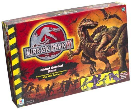 Jurassic park 3 island survival game