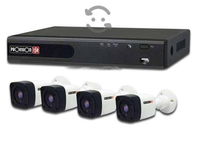 Kit 4 canales 4 camaras 720p