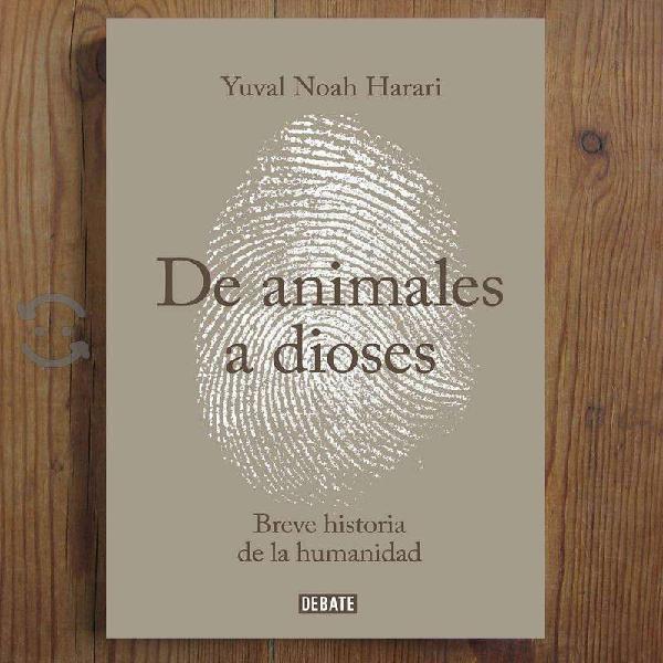 Libro : de animales a dioses de yuval noah harari