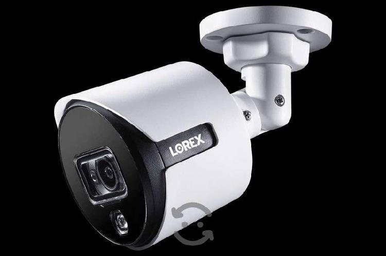 Lorex, 6 cámaras de seguridad 4k con 8 canales