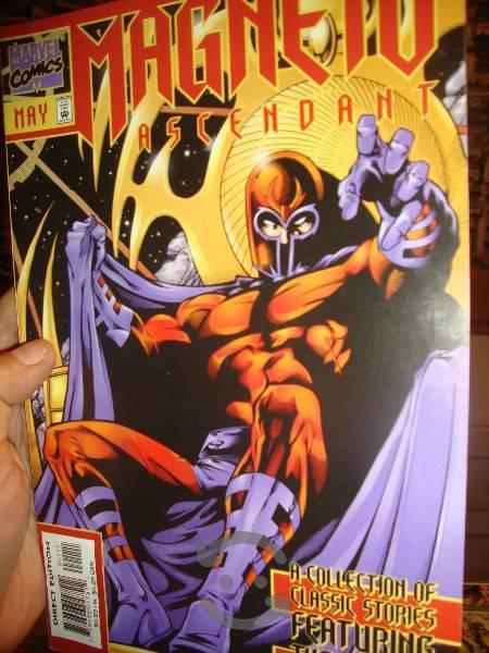 Marvel comics magneto ascendant tomo