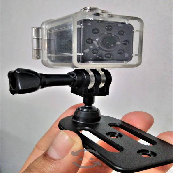 Mini camara 1080p sumergible vision nocturna iman
