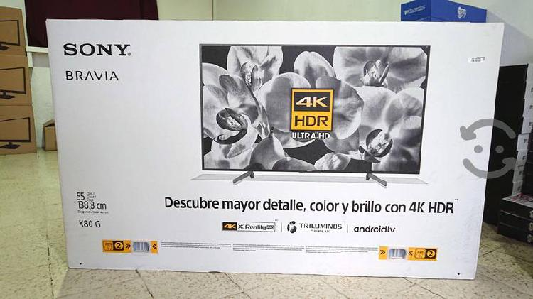 """Pantalla soy 55"""" nueva 4k android tv hdr trilumino"""