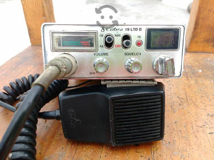 Radio cb cobra 19 ltd ii 40 canales