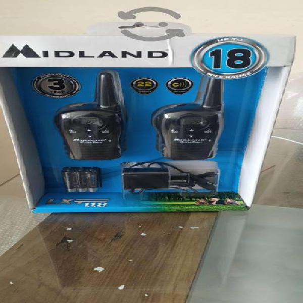 Radios de dos vías midland