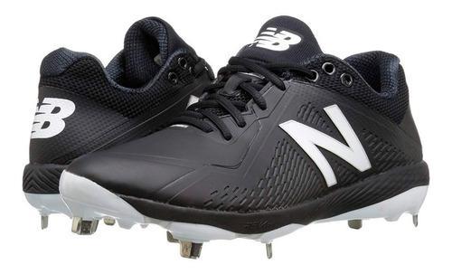 Spikes beisbol new balance l4040sk4 negro metal # 27.5 mx