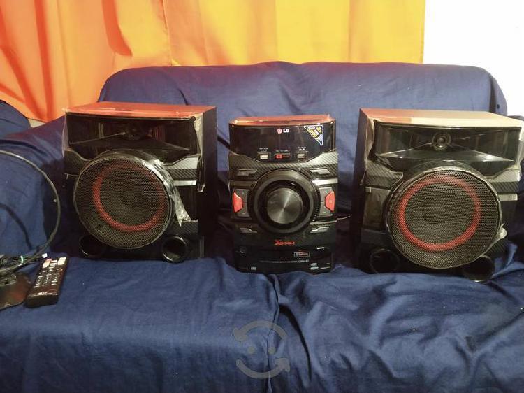 Stereo lg xboom bluetooth usb nuevo